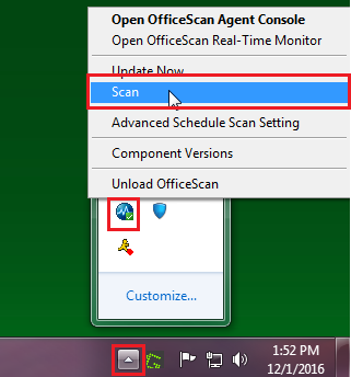 how to update trend micro officescan client manually